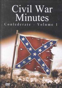 Civil War Minutes:Confederate Vol. 1 - (Region 1 Import DVD)
