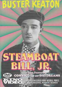 Steamboat Bill Jr. - (Region 1 Import DVD)