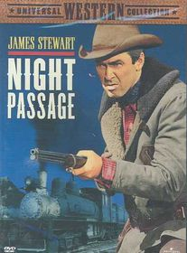 Night Passage - (Region 1 Import DVD)