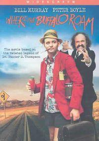 Where the Buffalo Roam - (Region 1 Import DVD)