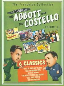 Best Of Bud Abbott and Lou Costello Vol 4 - (Region 1 Import DVD)