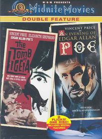 Tomb of Ligeia/Evening of Edgar Allan Poe - (Region 1 Import DVD)