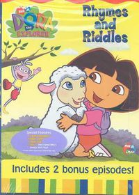 Dora the Explorer:Rhymes and Riddles - (Region 1 Import DVD)