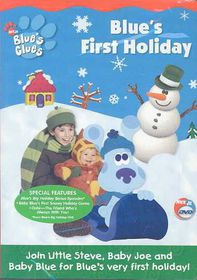 Blue's Clues: Blue's First Holiday - (Region 1 Import DVD)