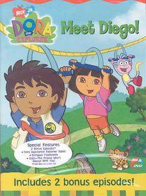 Dora the Explorer:Meet Diego - (Region 1 Import DVD)