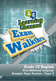 Learning Channel - Grade 12 English FAL Paper 3 (DVD)