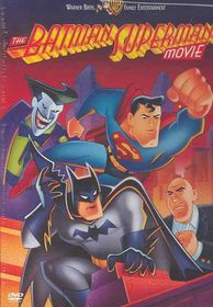Batman Superman Movie - (Region 1 Import DVD)