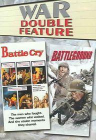 Battle Cry/Battleground - (Region 1 Import DVD)