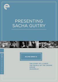 Eclipse 22:Presenting Sacha Guitry - (Region 1 Import DVD)