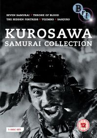 Akira Kurosawa: The Samurai Collection - (Import DVD)
