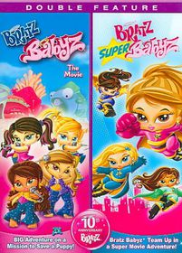 Bratz:Babyz the Movie/Bratz:Super Bab - (Region 1 Import DVD)