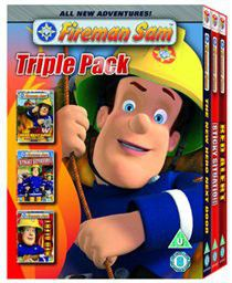 Fireman Sam: New Hero Next Door/Red Alert/Sticky Situation - (Import DVD)