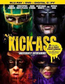 Kick A$$ - (Region A Import Blu-ray Disc)