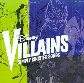 Disney Villains:Simply Sinister Songs - (Import CD)