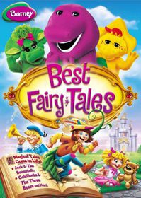 Barney:Best Fairy Tales - (Region 1 Import DVD)