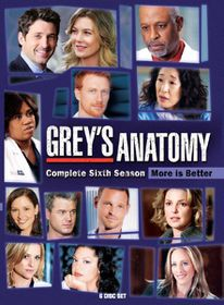 Grey's Anatomy Complete Season 6 (DVD)