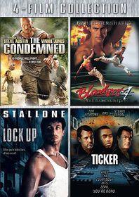 Condemned/Bloodsport 4/Lock up/Ticker - (Region 1 Import DVD)