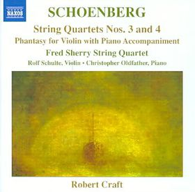Schoenberg: String Quartets 3 & 4 - String Quartets Nos.3 & 4 (CD)