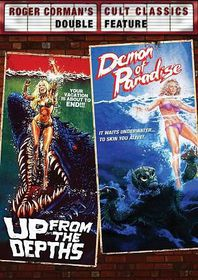 Up from the Depths/Demon of Paradise - (Region 1 Import DVD)