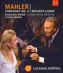 Mahler:Sym No 4 Five Lieder Based - (Region A Import Blu-ray Disc)