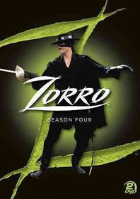 Zorro:Complete Season 4 - (Region 1 Import DVD)