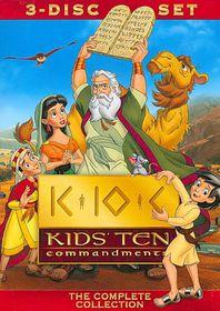 Kids' Ten Commandments - (Region 1 Import DVD)