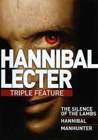 Hannibal Lecter Triple Feature - (Region 1 Import DVD)