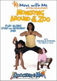 Monkeying Around at the Zoo - (Region 1 Import DVD)
