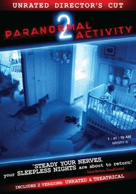 Paranormal Activity 2 (Director's Cut - (Region 1 Import DVD)