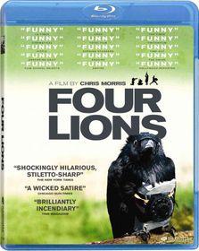 Four Lions - (Region A Import Blu-ray Disc)