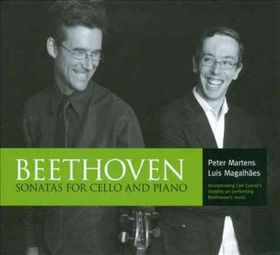 Beethoven / Magalhaes / Martens - Sonatas For Cello & Piano (CD)