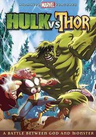 Hulk Vs Thor - (Region 1 Import DVD)