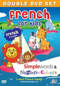 French for Kids: Simple Words/Numbers and Colours - (Import DVD)