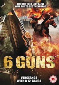 6 Guns - (Import DVD)