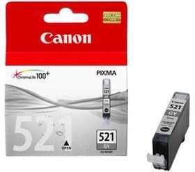 Canon CLI-521 Dye Ink Cartridge - Grey