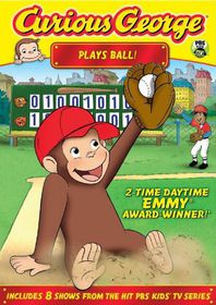 Curious George:Plays Ball - (Region 1 Import DVD)