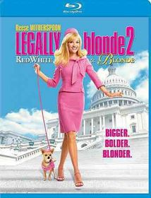 Legally Blonde 2:Red White and Blond - (Region A Import Blu-ray Disc)