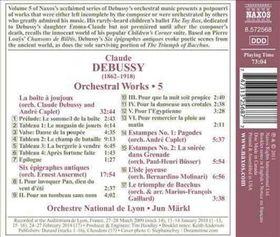 Debussy: Orchestral Works - Orchestral Works (CD)