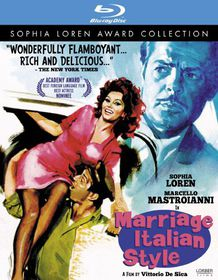 Marriage Italian Style - (Region A Import Blu-ray Disc)