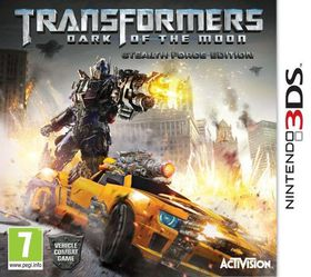 Transformers 3: Dark of the Moon The Movie  (3DS)