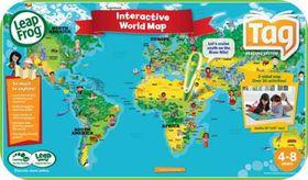 LeapFrog - Tag World Map