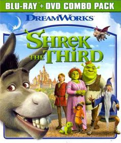 Shrek the Third - (Region A Import Blu-ray Disc)