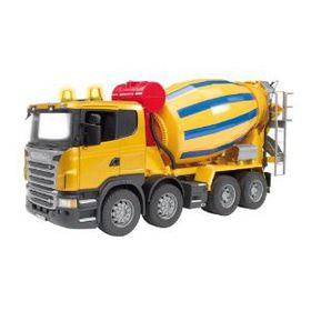 Bruder - 1:16 Scale Scania R-Series Cement Mixer Truck