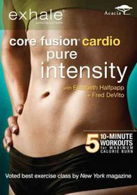 Exhale:Core Fusion Cardio Pure Intens - (Region 1 Import DVD)