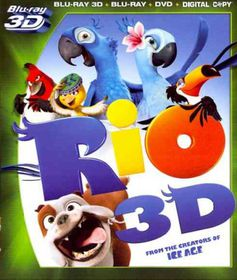 Rio 3d - (Region A Import Blu-ray Disc)