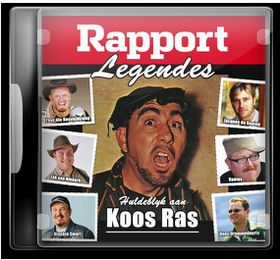Rapport Legendes - Huldeblyk Aan Koos Ras - Various Artists (CD)