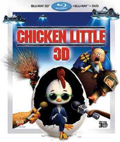 Chicken Little 3d - (Region A Import Blu-ray Disc)