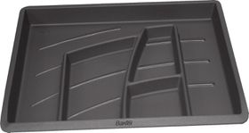 Bantex Organiser Tray - Anthracite Grey (6 Compartments)