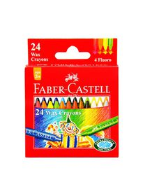 Faber-Castell Slim Wax Crayons