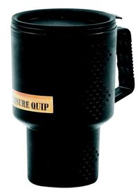 LeisureQuip - 400Ml Plastic Travel Mug With Lid - Black
